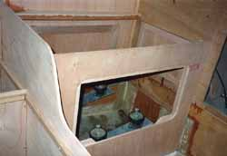 building an engine box on a sailboat