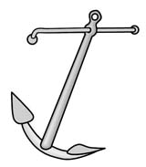 The fisherman anchor, admiralty pattern anchor or yachtsmans anchor