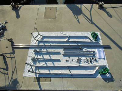 Used Stainless Steel Gantry, Demountable and Adjustable for Sale