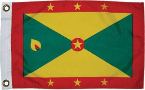 National Flag of Grenada & Carriacou