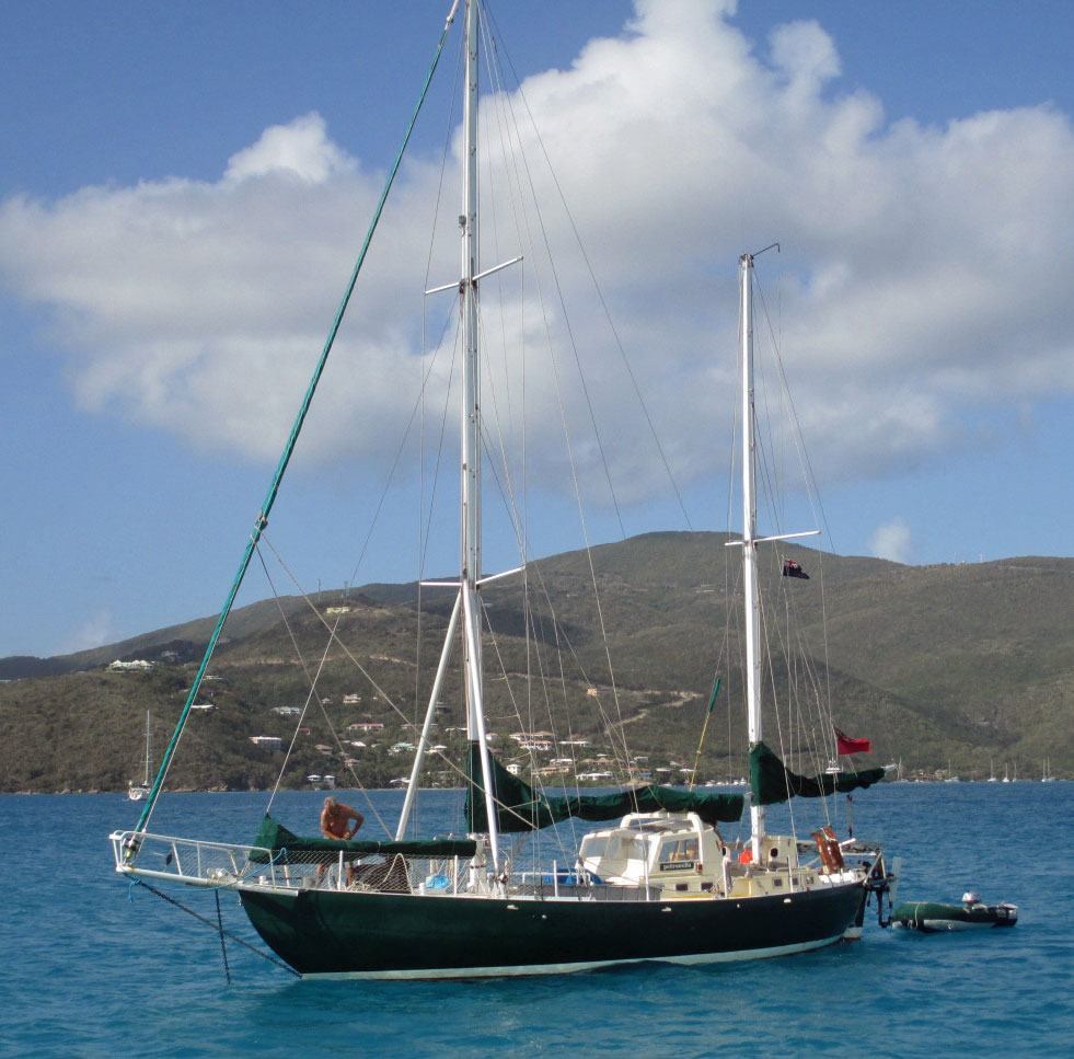 A Joshua 40 Sailboat