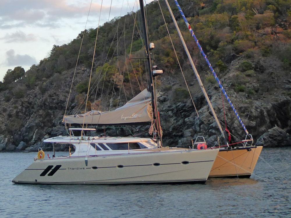 A Knysna 500 Cruising Catamaran