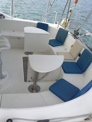 Huge cockpit