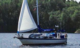 'Ta Hi', a Mariner 36 sailboat for sale
