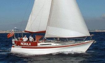 Moody 33 sailboat