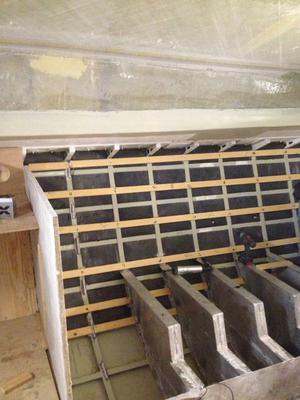 Interior with keel reinforcement