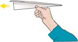 paper dart analogy