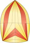 starcut asymmetric and conventional spinnakers