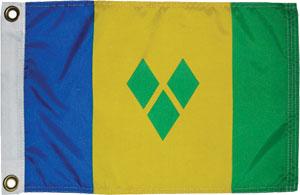 St Vincent & the Grenadines flag