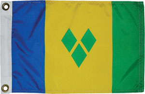 St Vincent & the Grenadines flag