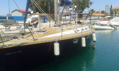 A Jeanneau Sun Magic 44 sailboat