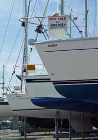 Boats for sale in a Yacht Brokers