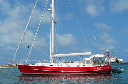 A Valiant 50 Cutter-Rigged Cruising Boat