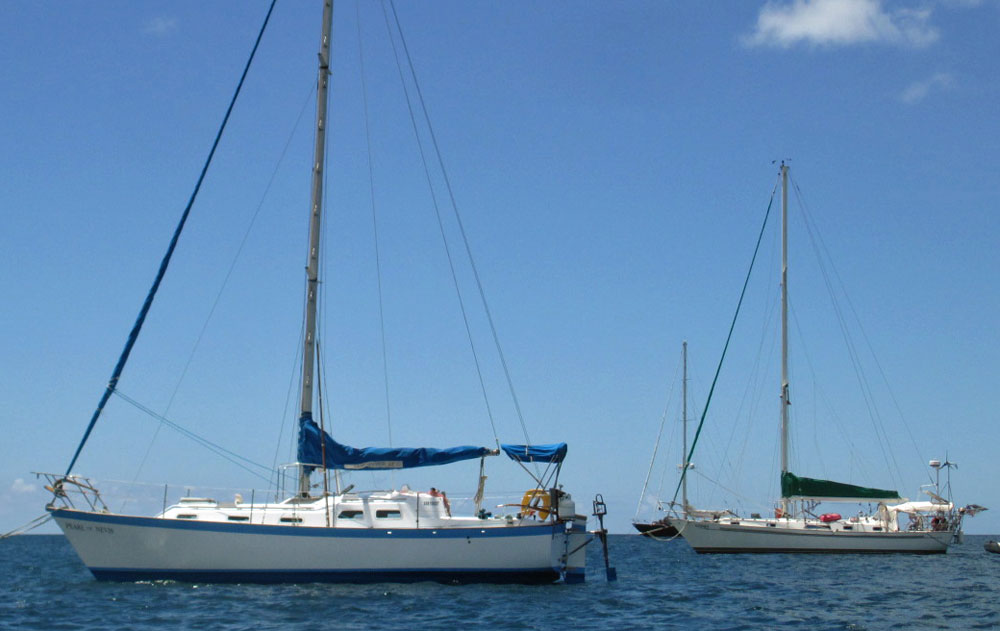 A Vancouver 32 cruising yacht