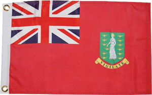 BVIs flag