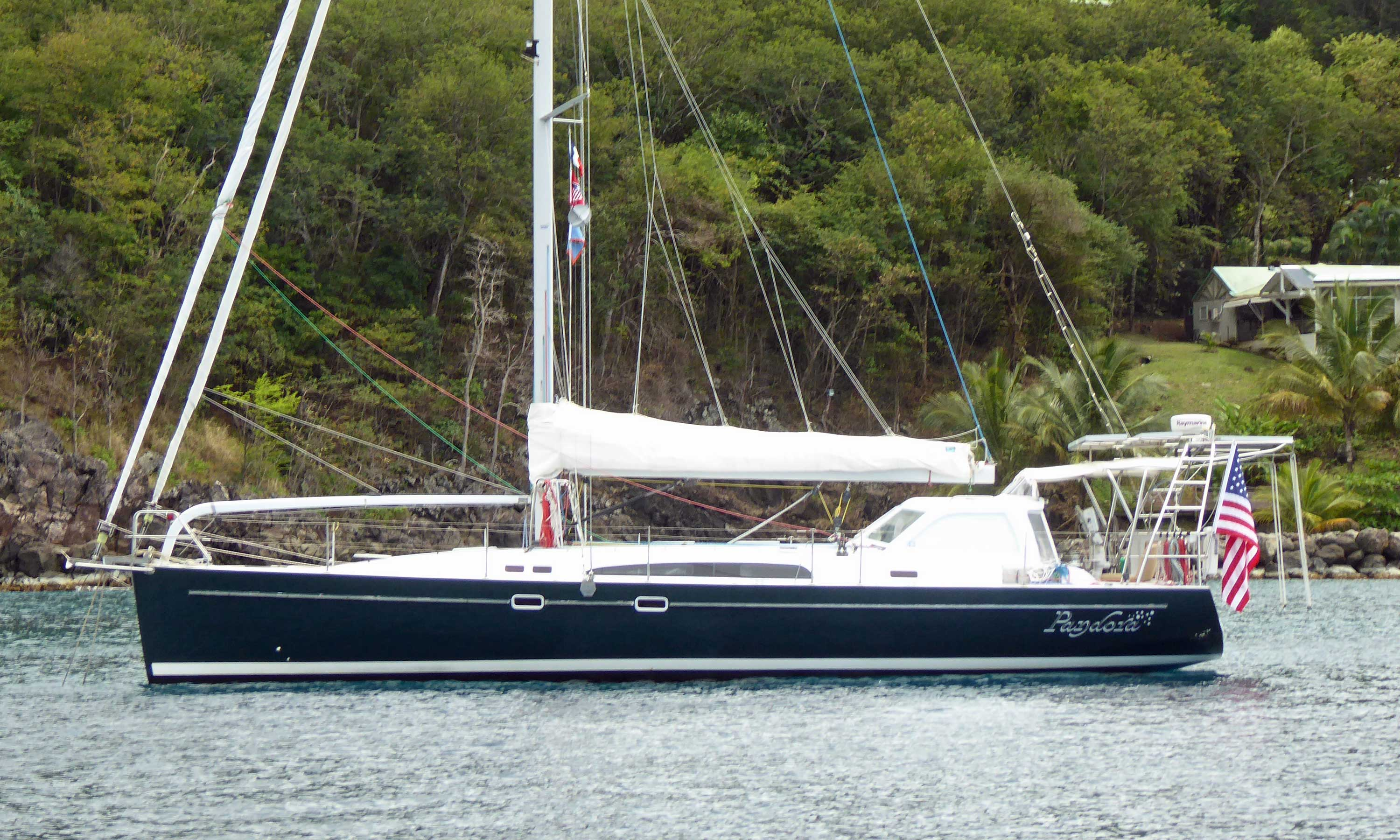Aerodyne 47 performance cruising yacht