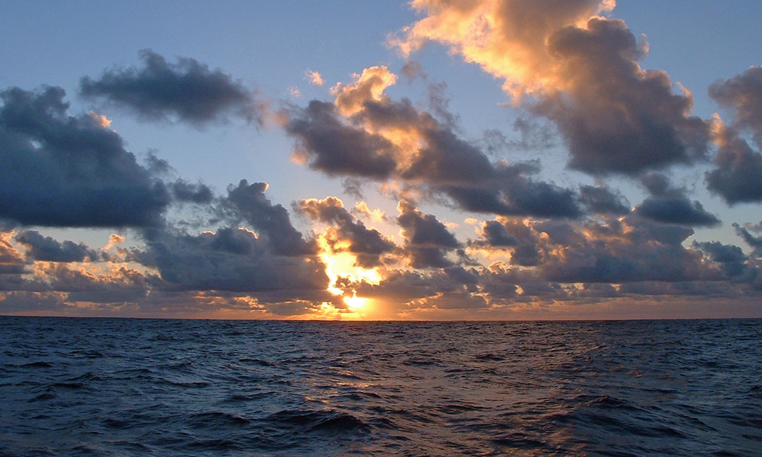 Mid-Ocean Sunrise