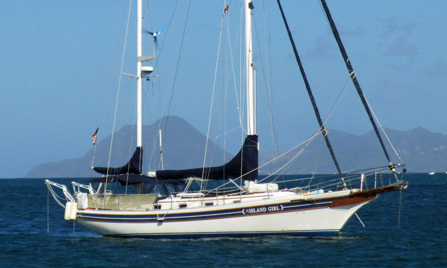 A Bayfield 40 ketch