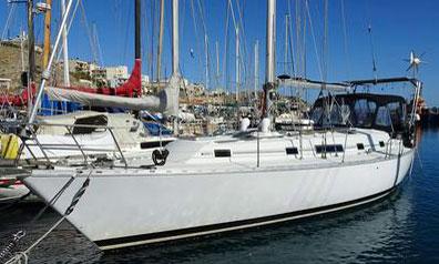 'Conquistador', a Beneteau Idylle 43 sailboat for sale