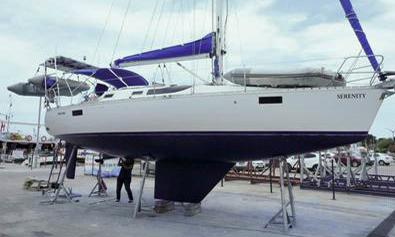 'Serenity', a Beneteau Oceanis 350
