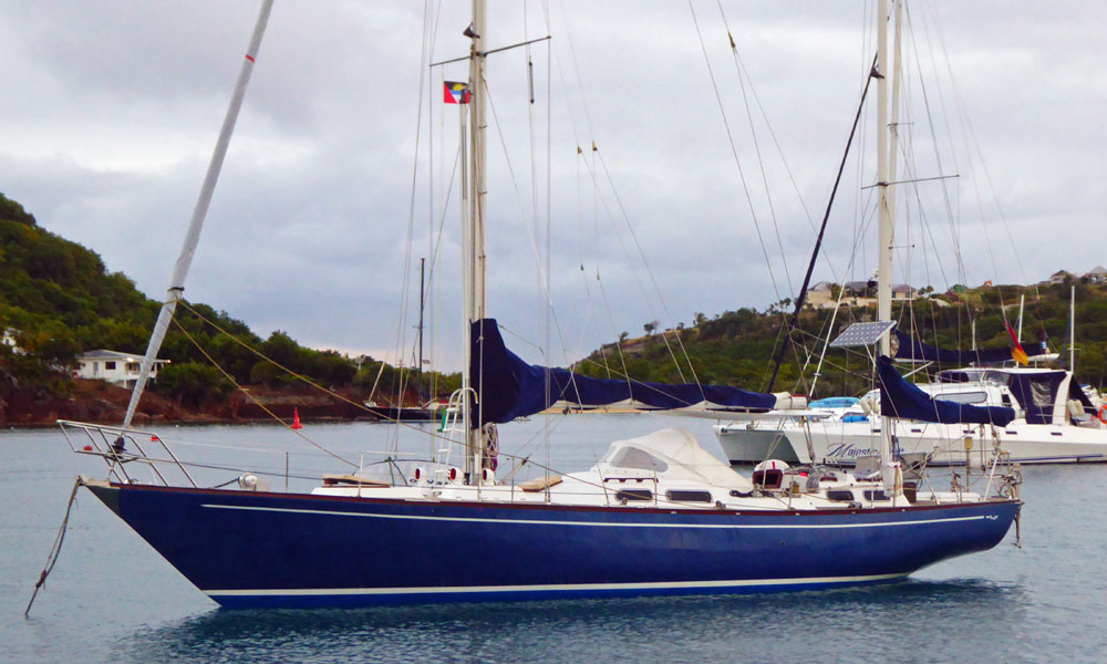 A Bowman 46 Corsair Yawl