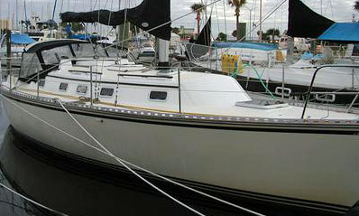 'Second Wind', a Caliber 33 for sale