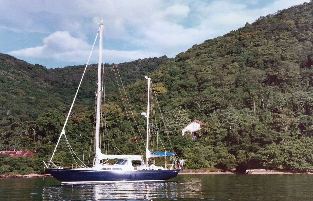 A Nicholson 48 Ketch Sailboat