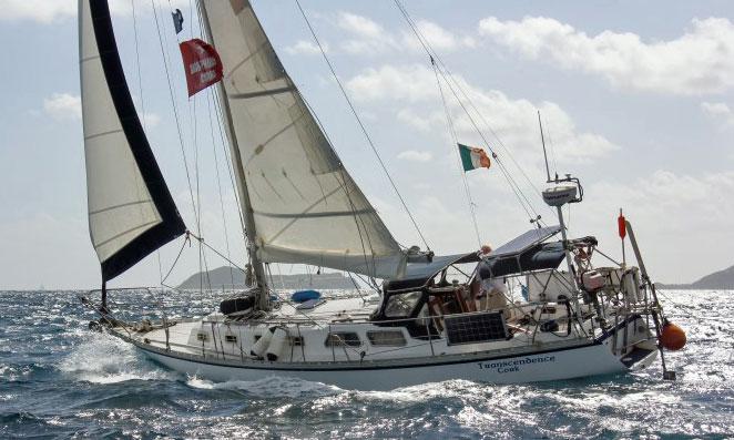 A Cascade 36 sloop