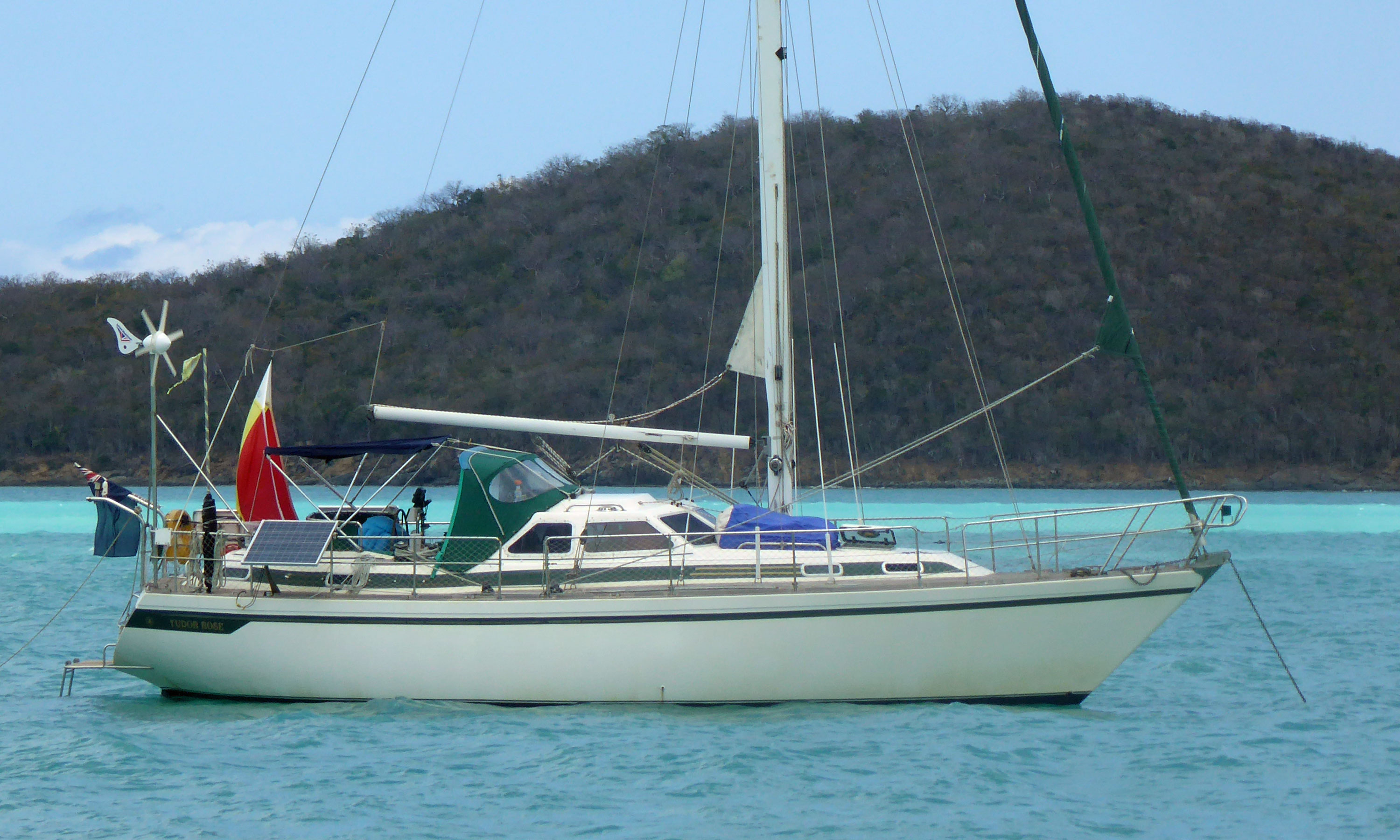 A Colvic Countess 37 Sailboat