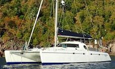 A 46' Fountaine Pajot Casamance Catamaran for Sale