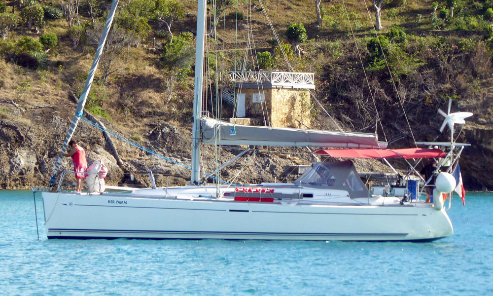 Dufour 40e sailboat