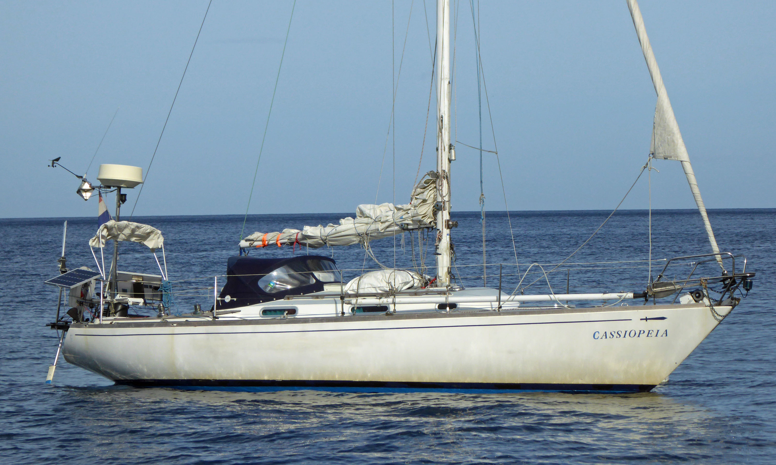 A Gladiateur 33 sailboat