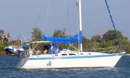 Hunter 34 sailboat for sale