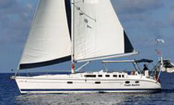 'Counts Quarters', 46ft Hunter for Sale