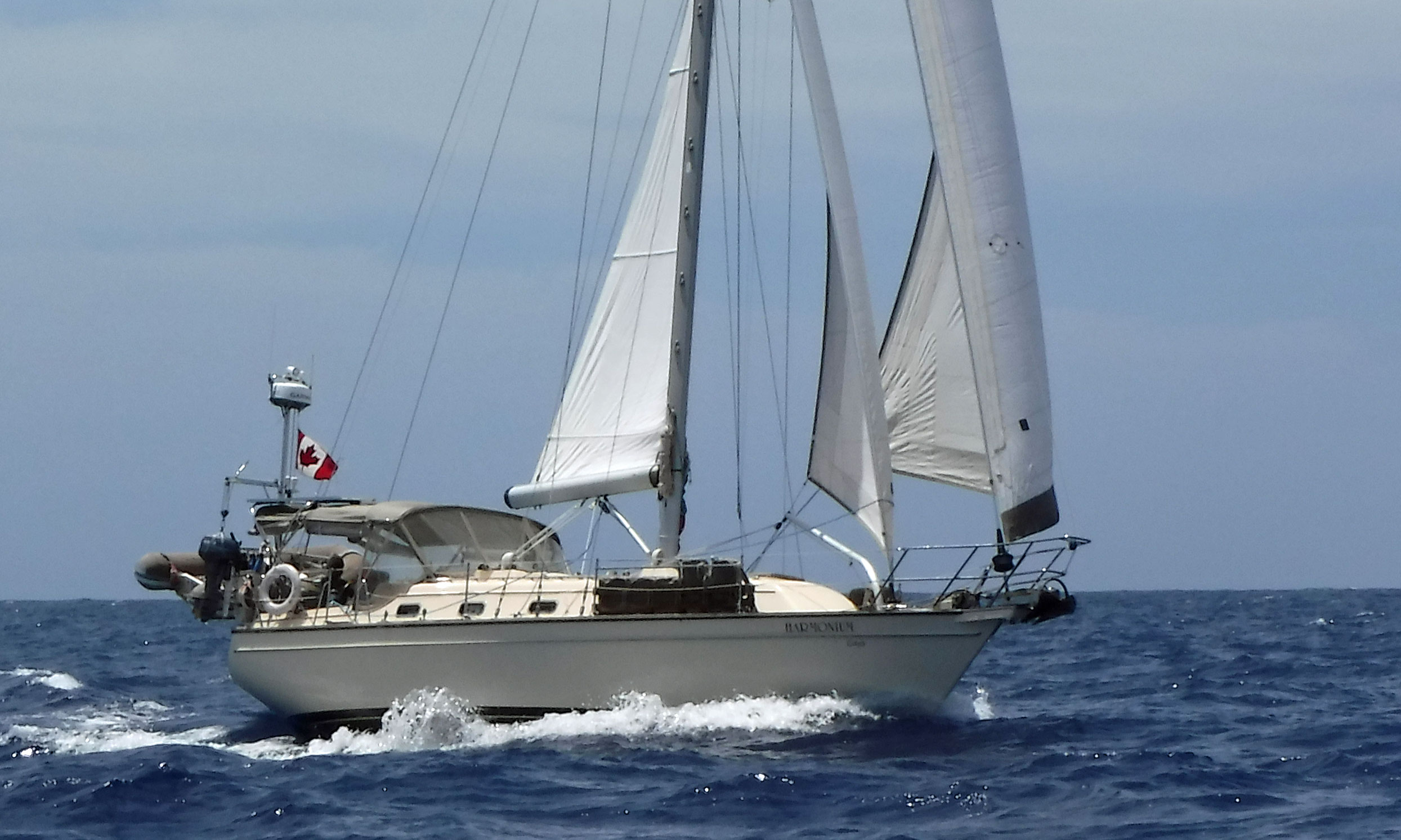 Island Packet 380 cutter sailboat