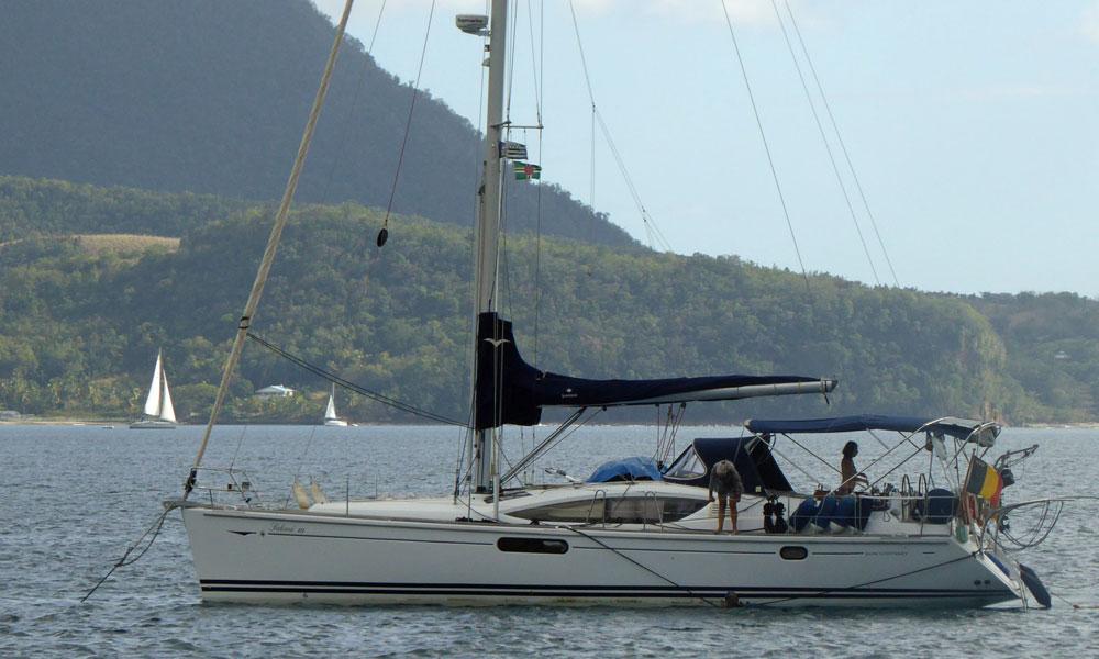Jeanneau Sun Odyssey 44i cruising yacht