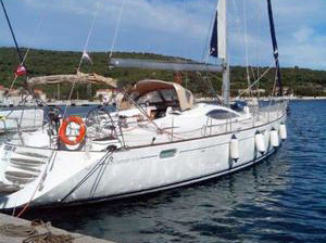 A Jenneau Sun Odyssey DS54 sailboat for sale
