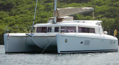 'Nauti Dog', a Lagoon 421 Owners Version for sale