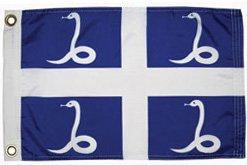 Martinique courtesy flag