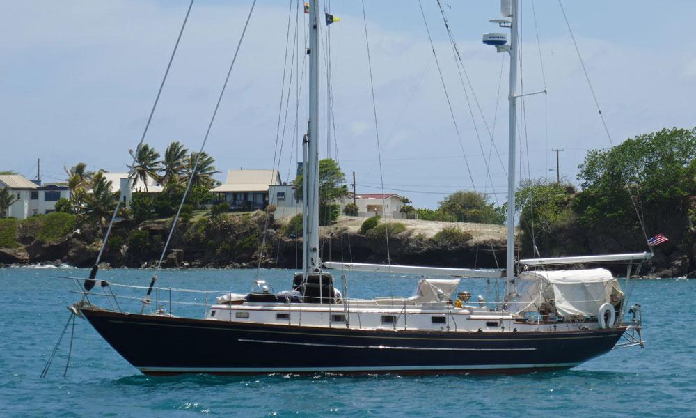'Artemis', a Mason 43 Staysail Ketch