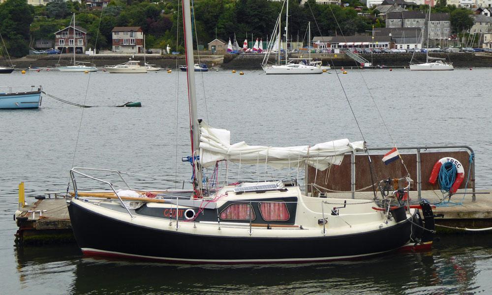 'Godot', a Nordica 20 sailboat