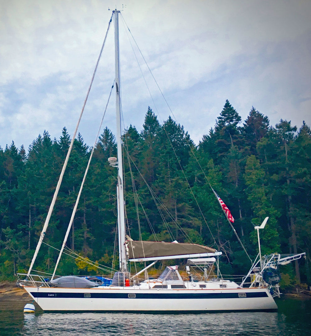 Norseman 447, a Robert Perry designed cruising yacht