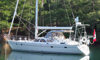 A Taswell 43 'All Season' sailboat for sale