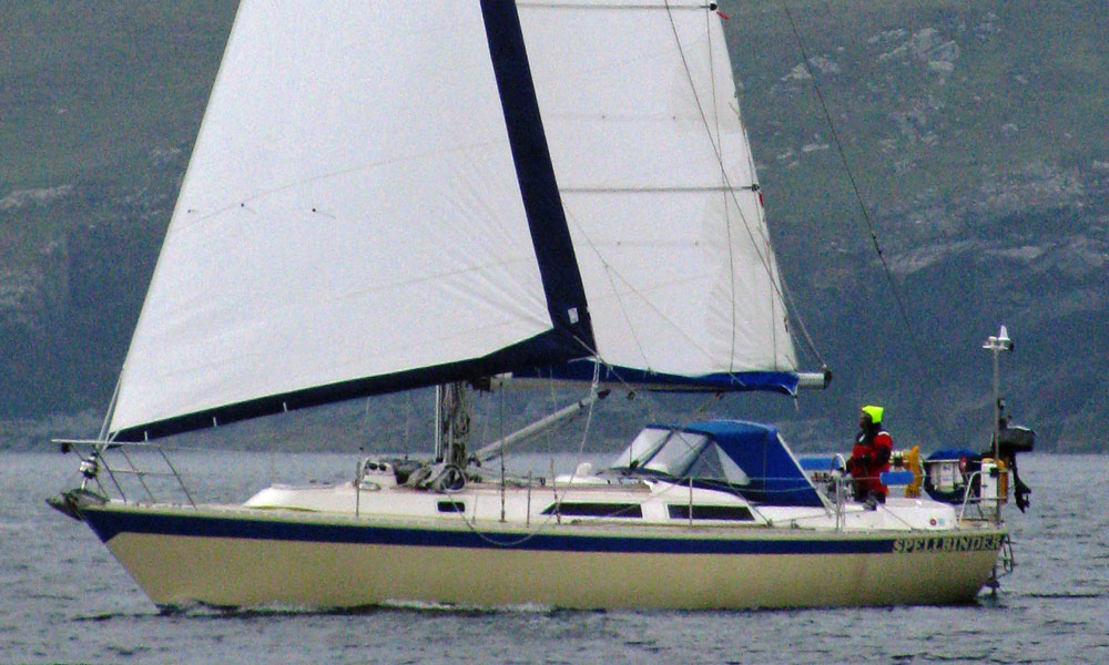 The Oyster Heritage 37 cruising yacht