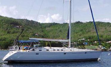 A Beneteau Oceanis 50 sailboat for sale