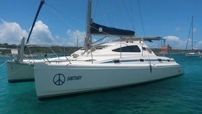 'Sanctuary', an Island Spirit 37 Catamaran