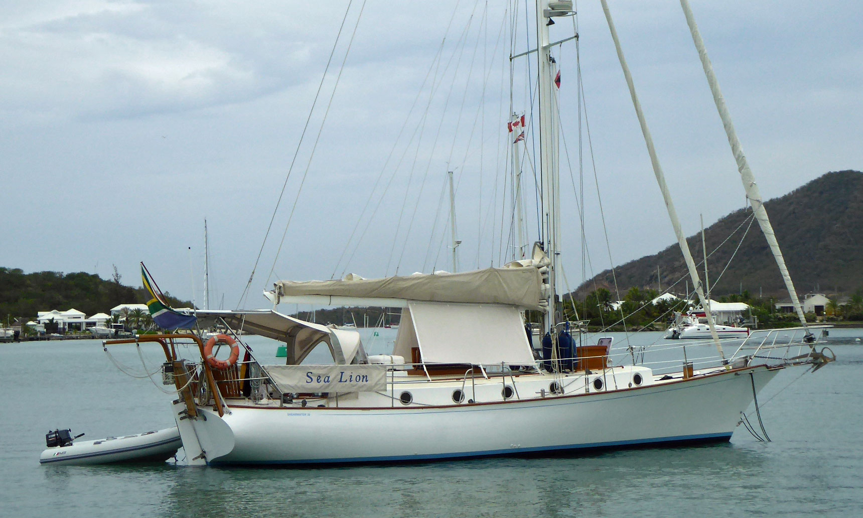 popular cruising yachts from 35 to 40 feet 10 7m to 12 2m length