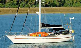 A Tayana Flying Dutchman 50 Cutter for sale