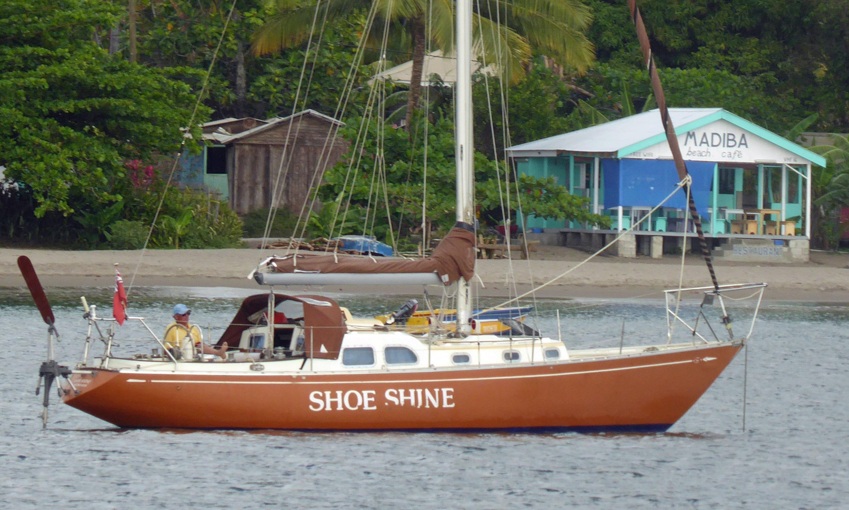 Sparkman & Stephens 34 sailboat