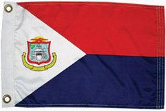 St Maarten courtesy ensign